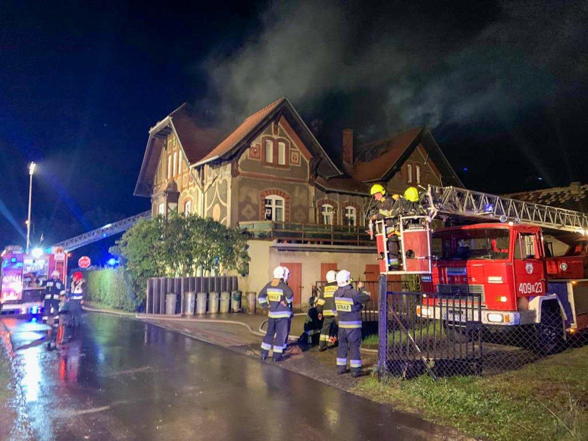 Pożar w Czernej