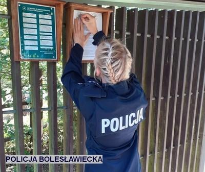 Działania służb w Borach Dolnośląskich