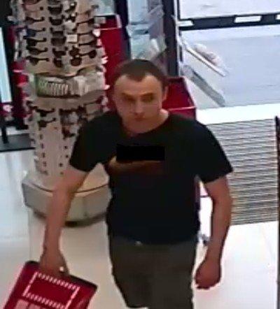 Mężczyzna podejrzewany o kradzież