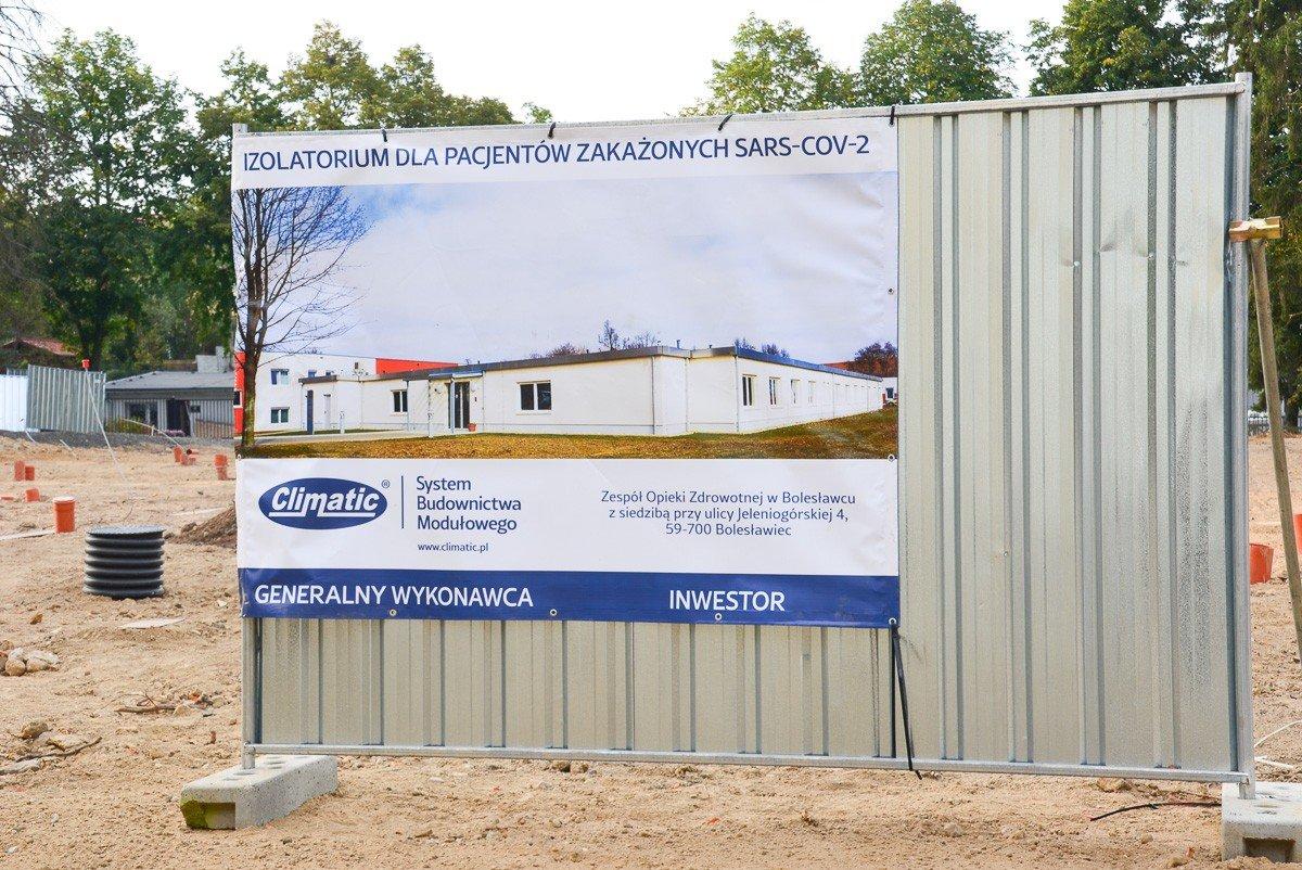 W Bolesławcu powstaje nowy szpital dla zakażonych koronawirusem