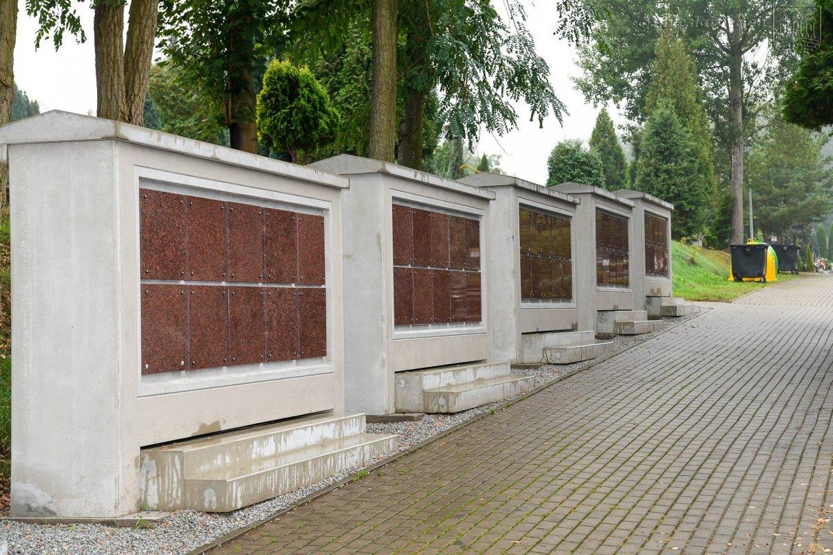 Kolumbarium na cmentarzu komunalnym w Bolesławcu