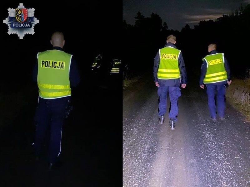 Nocne poszukiwania 74-latki z powiatu polkowickiego