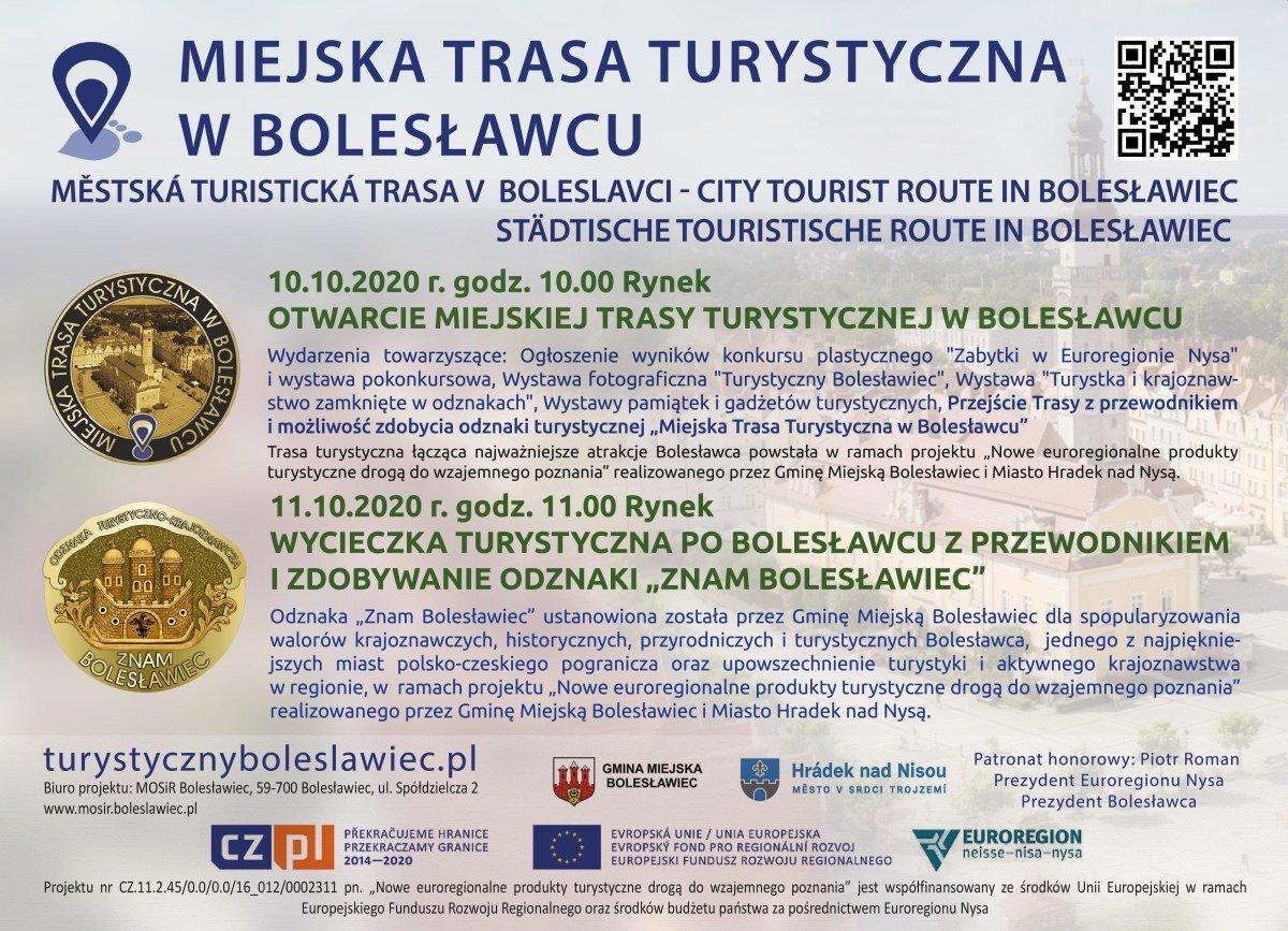Miejska trasa turystyczna w Bolesławcu