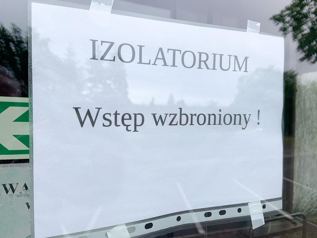 Izolatorium dla chorych na COVID-19 w Bolesławcu