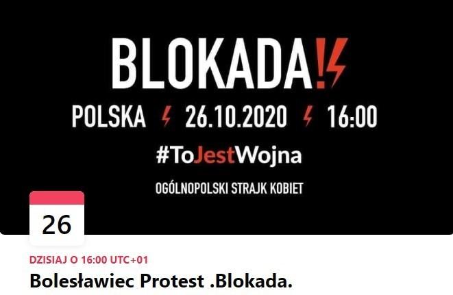 Trzeci dzień protestu w Bolesławcu