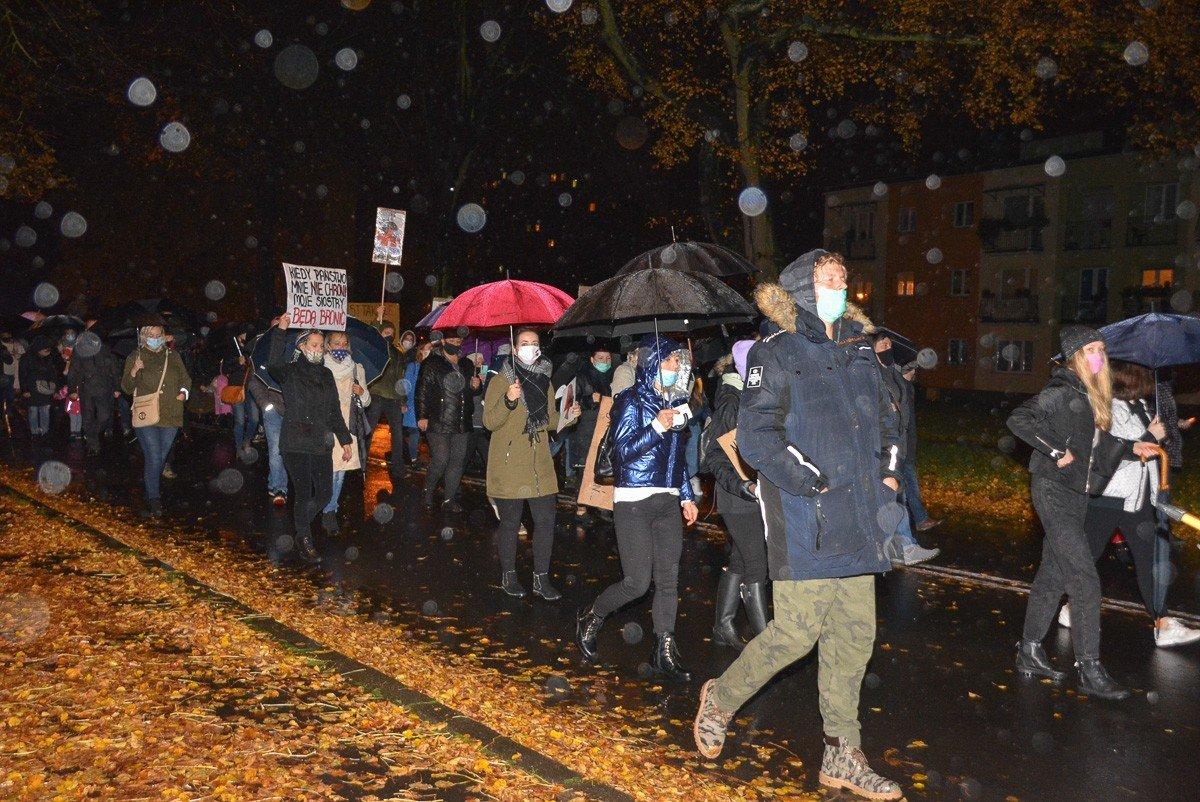 Protest w Bolesławcu