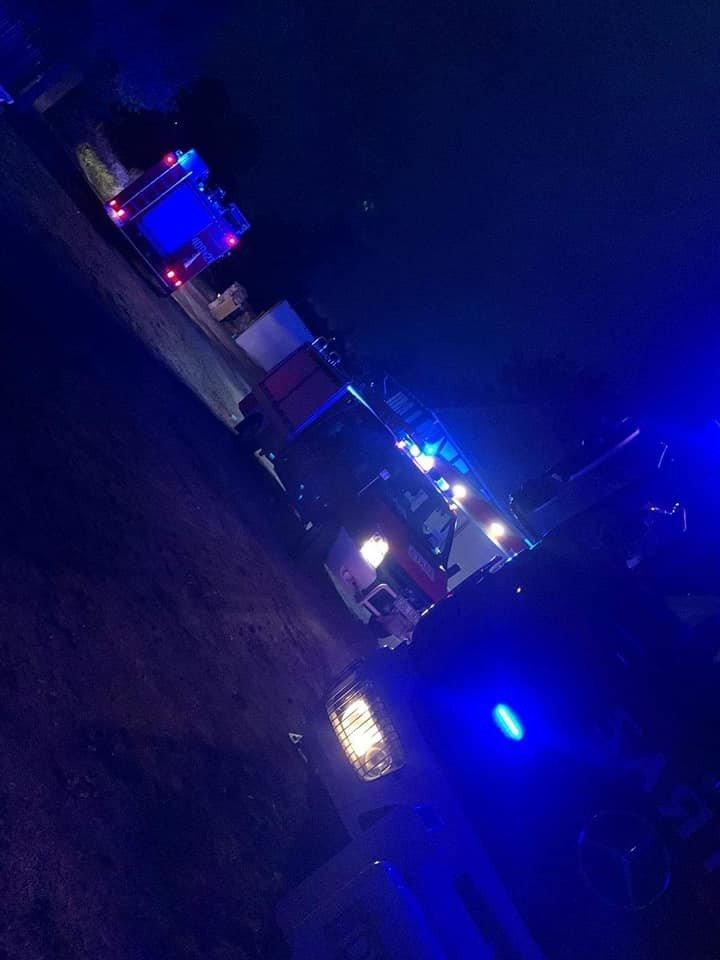 Akcja straży pożarnej w Gościszowie