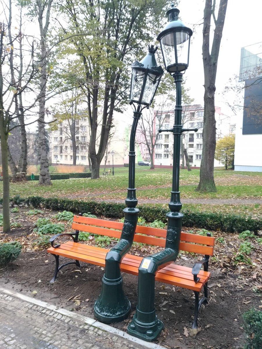 Zakochane latarnie w Bolesławcu