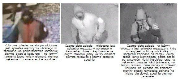 Policja prosi o pomoc w ustaleniu tożsamości trzech mężczyzn