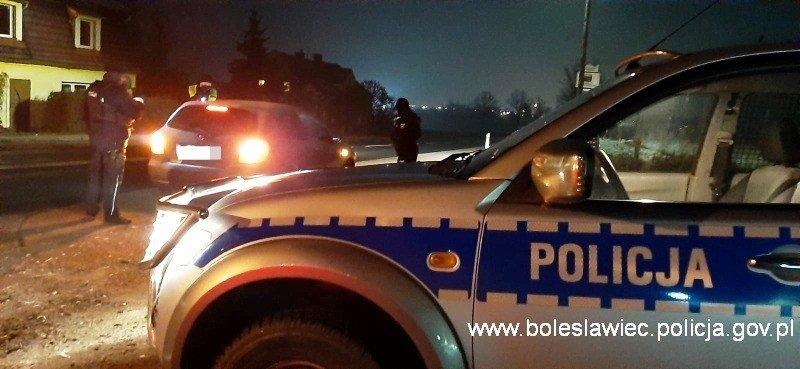 Nocne kontrole policji