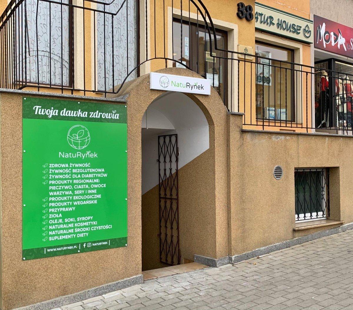 Naturynek - sklep ze zdrową żywnością w Bolesławcu