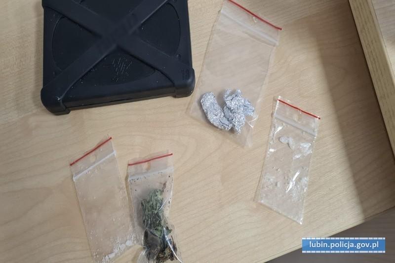Narkotyki przechwycone przez lubińską policję