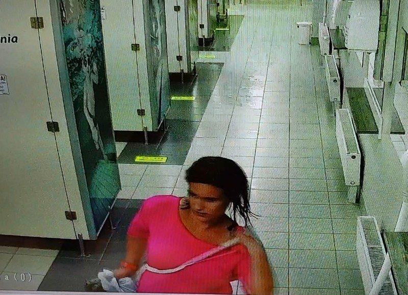 Podejrzewana kobieta