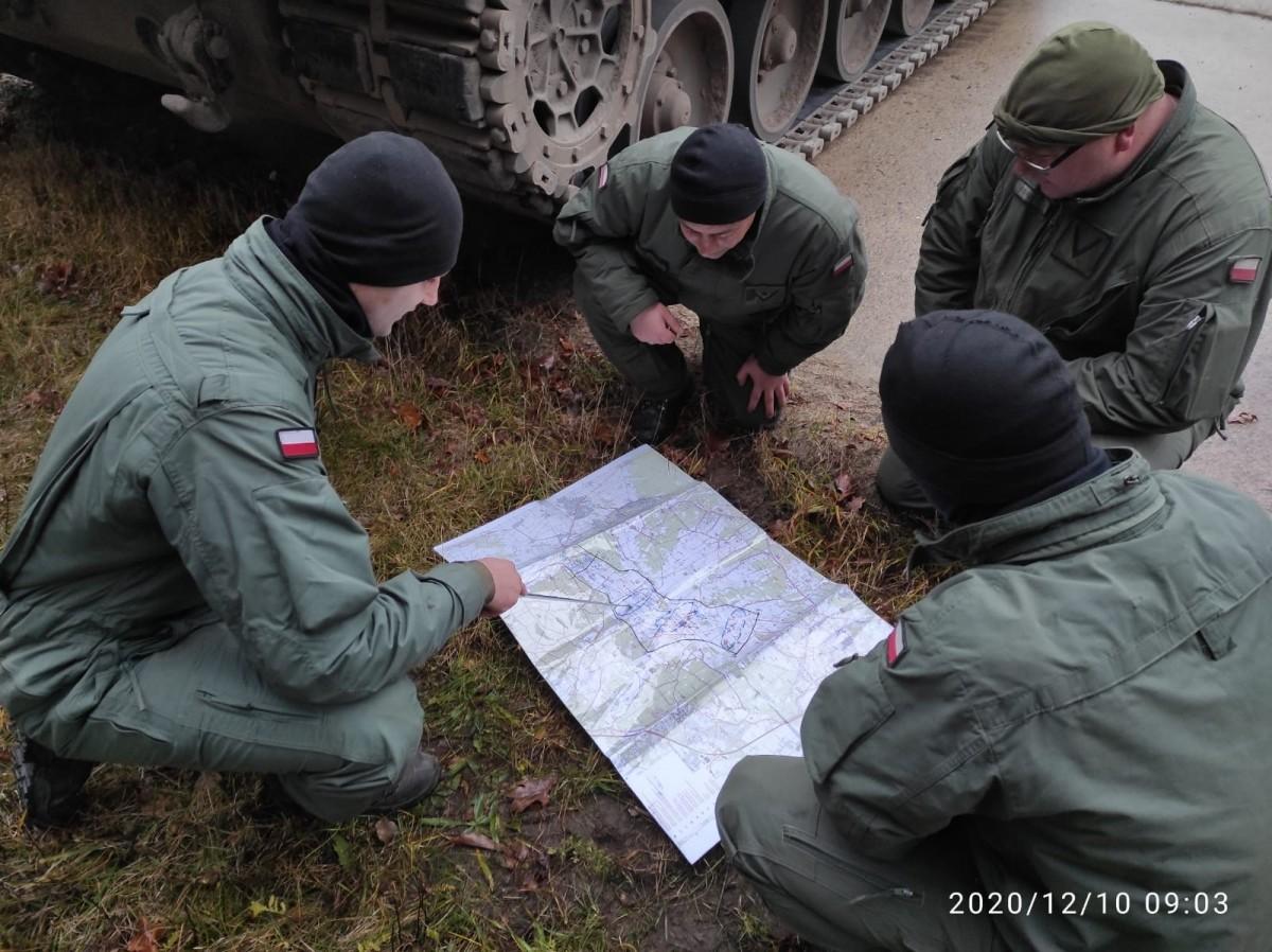 Żołnierze 10 Brygady Kawalerii Pancernej na ćwiczeniach w Niemczech