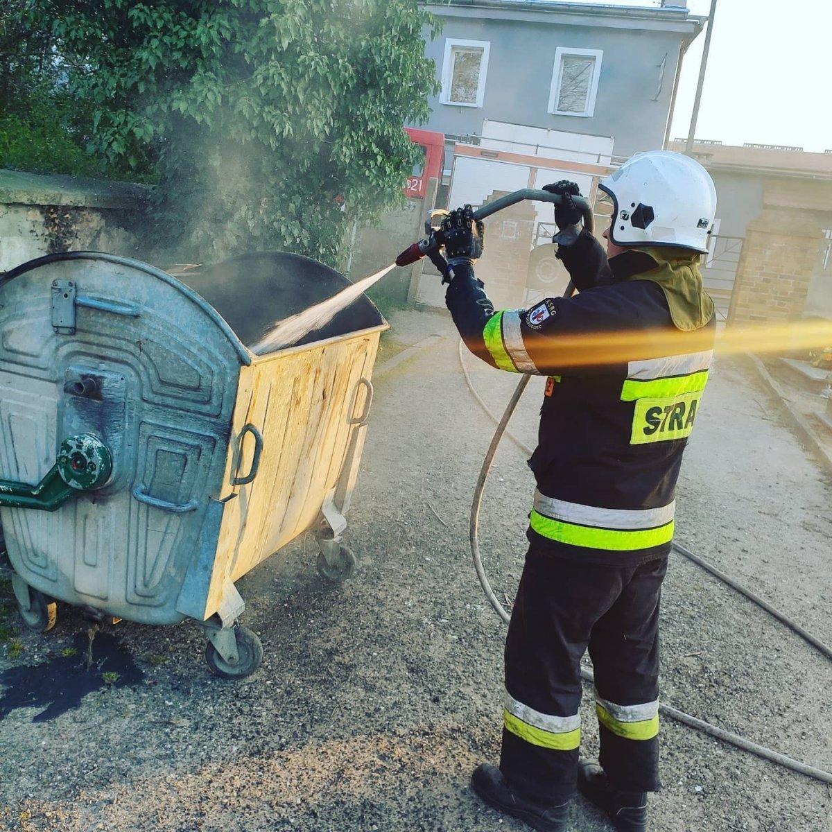 Strażak OSP Nowogrodziec