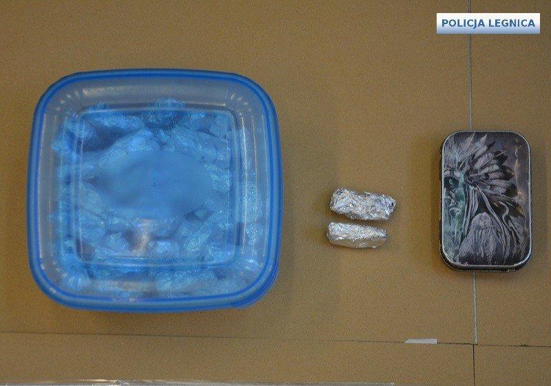 Narkotyki przechwycone przez legnicką policję