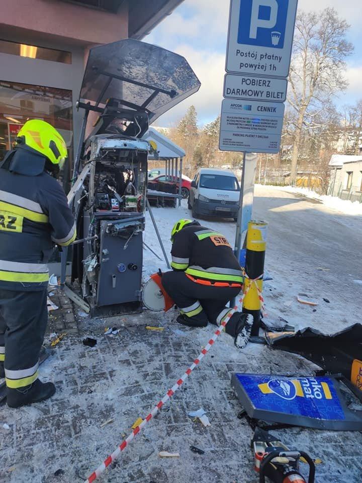 Akcja straży pożarnej w Szklarskiej Porębie