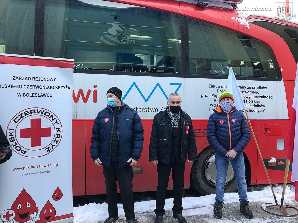 Bolesławieccy krwiodawcy uhonorowani
