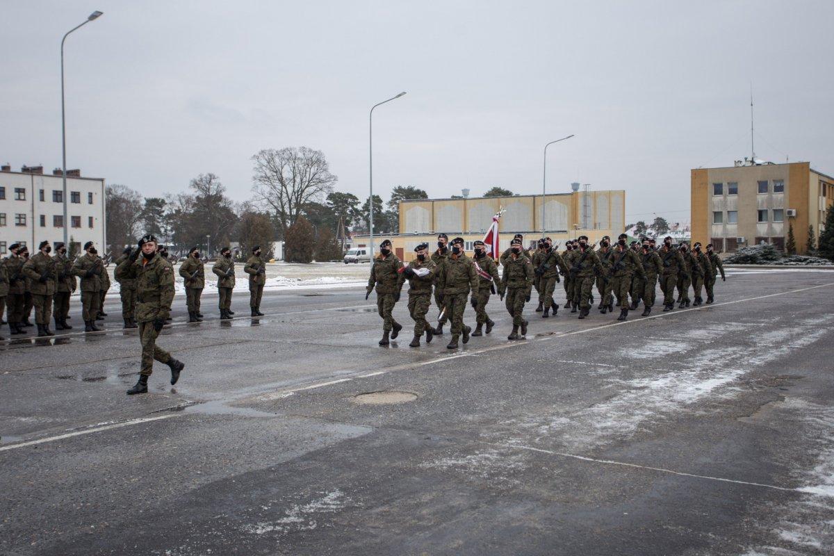 Przysięga w 10 Brygadzie Kawalerii Pancernej w Świętoszowie