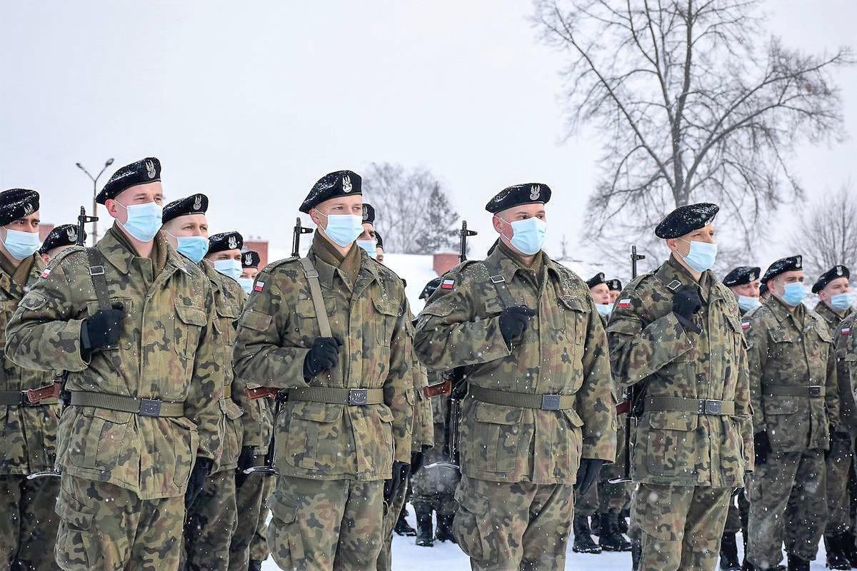 23 Śląski Pułk Artylerii: uroczyste wręczenie broni ochotnikom