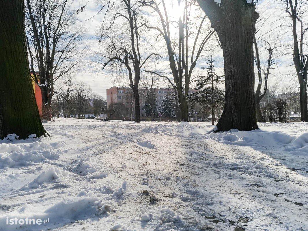 Piękna zima w Bolesławcu