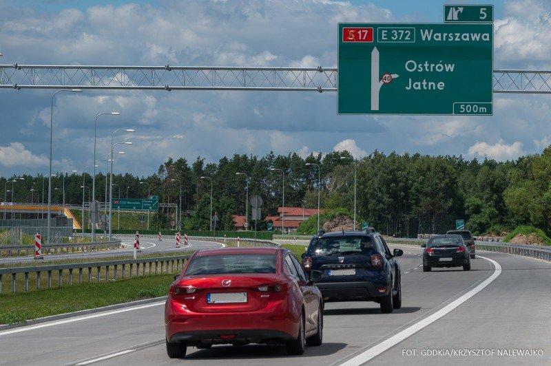Oznakowanie na drogach szybkiego ruchu