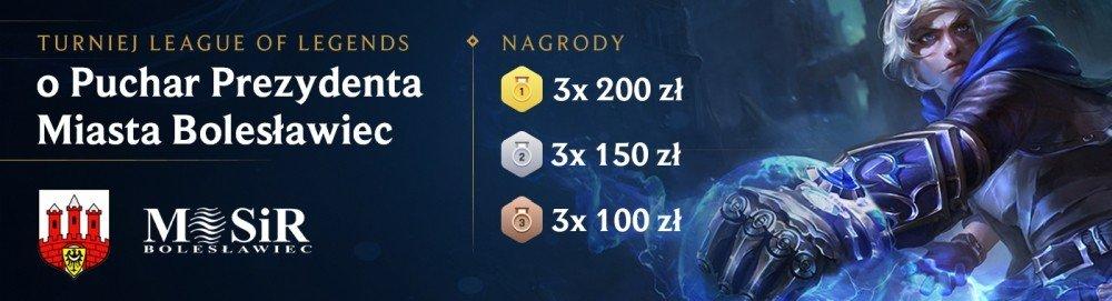 Turniej on-line League of Legends