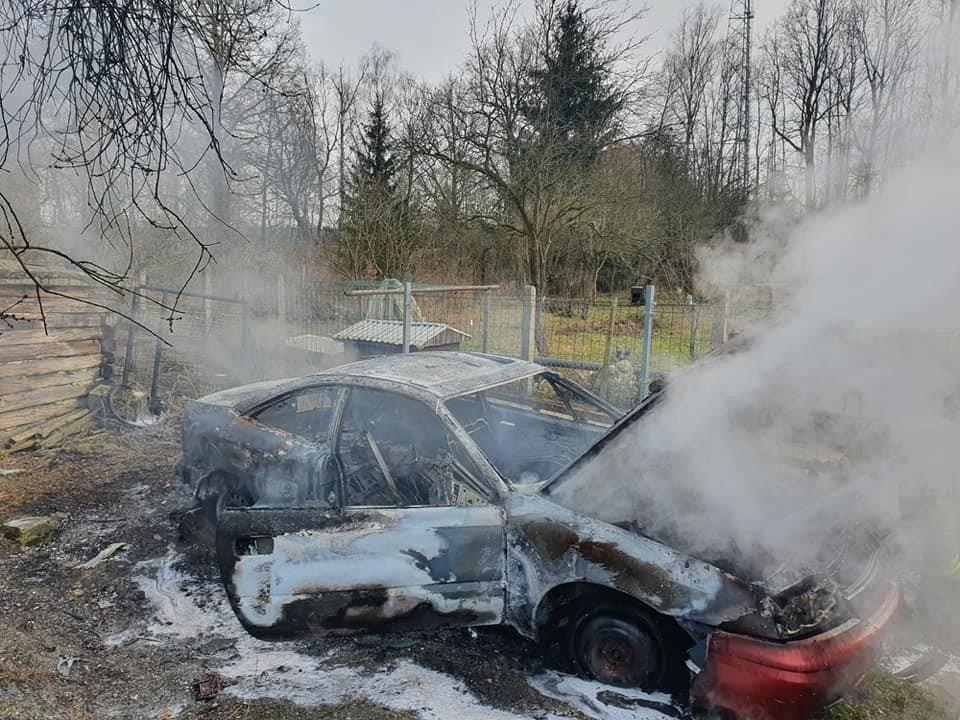 Akcja straży pożarnej w Golnicach