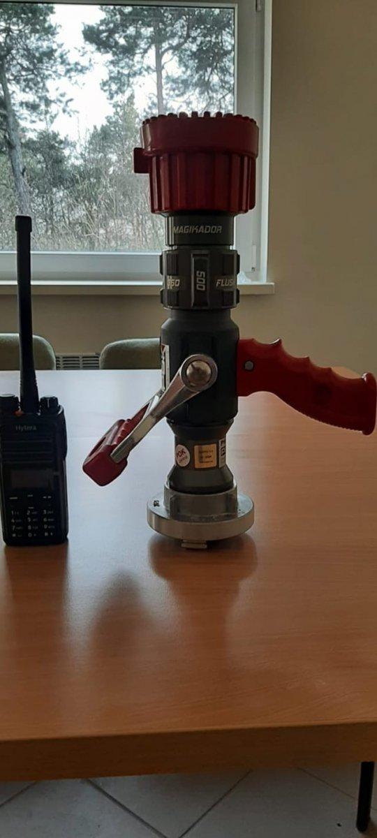 Nowy sprzęt strażaków z Przejęsławia