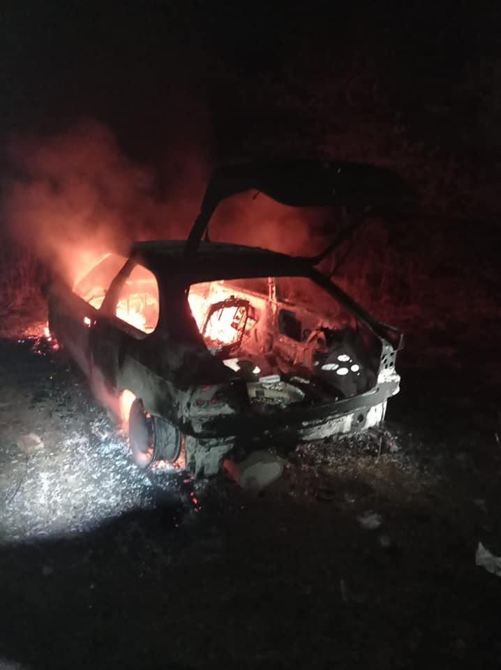 Akcje straży pożarnej w miejscowości Iwiny