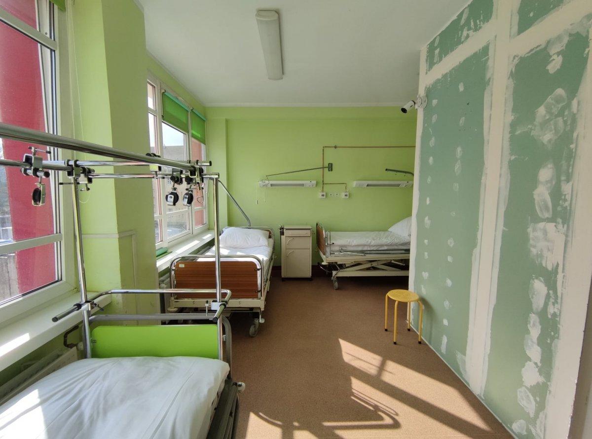Oddział w szpitalu powiatowym w Bolesławcu