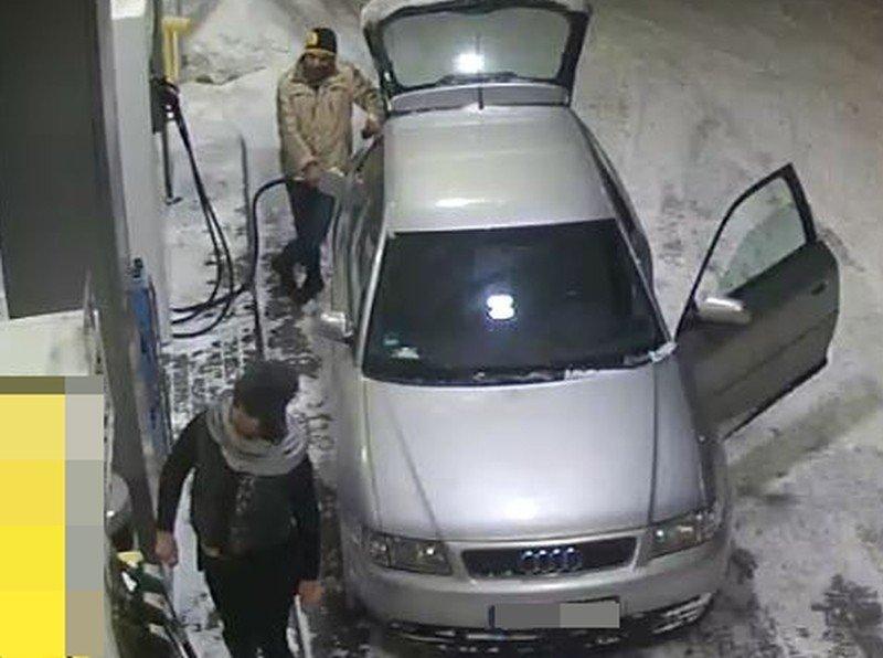 Osoby podejrzewane o kradzież paliwa