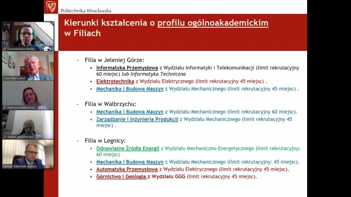 Spotkanie bolesławieckiego starosty z przedstawicielami Politechniki Wrocławskiej