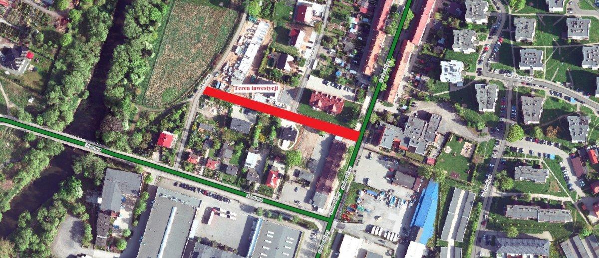 Ulica Nadrzeczna w Bolesławcu