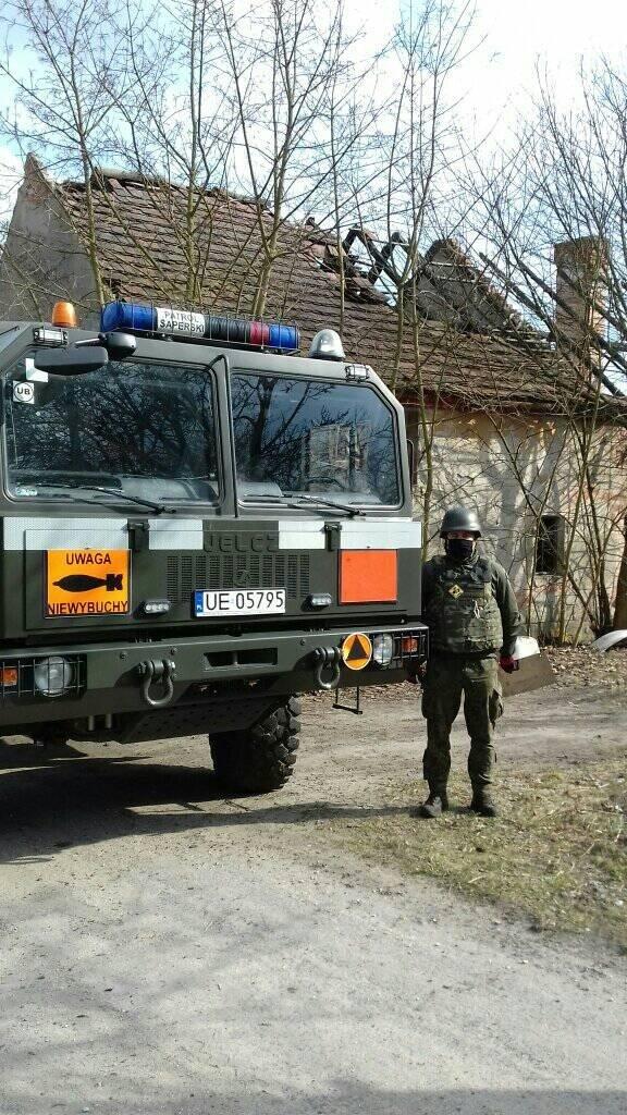 Akcja Patrolu Saperskiego Bolesławiec w gminie Bolesławiec