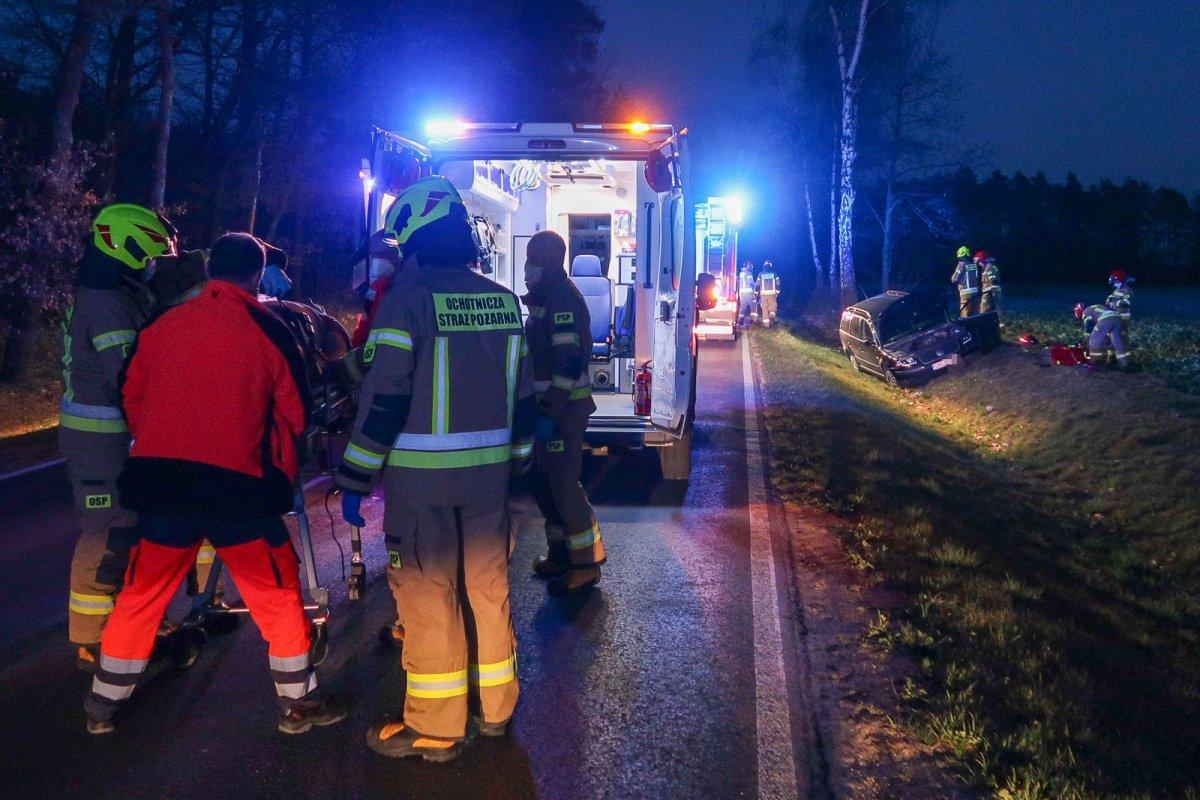 Wypadek między Łaziskami a Wartą Bolesławiecką