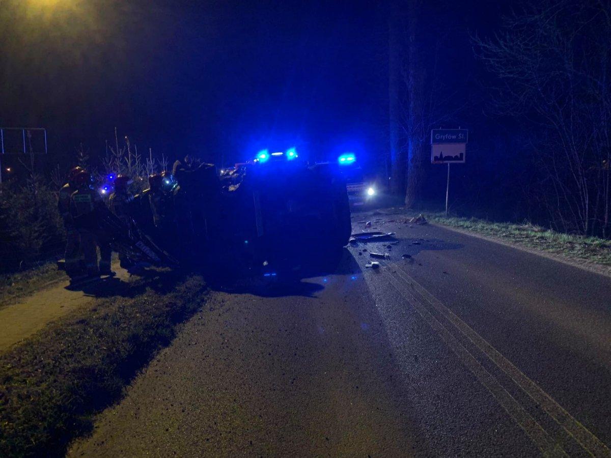 Wypadek w powiecie lwóweckim