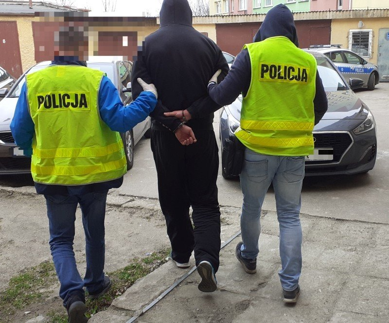 Podejrzany i narkotyki