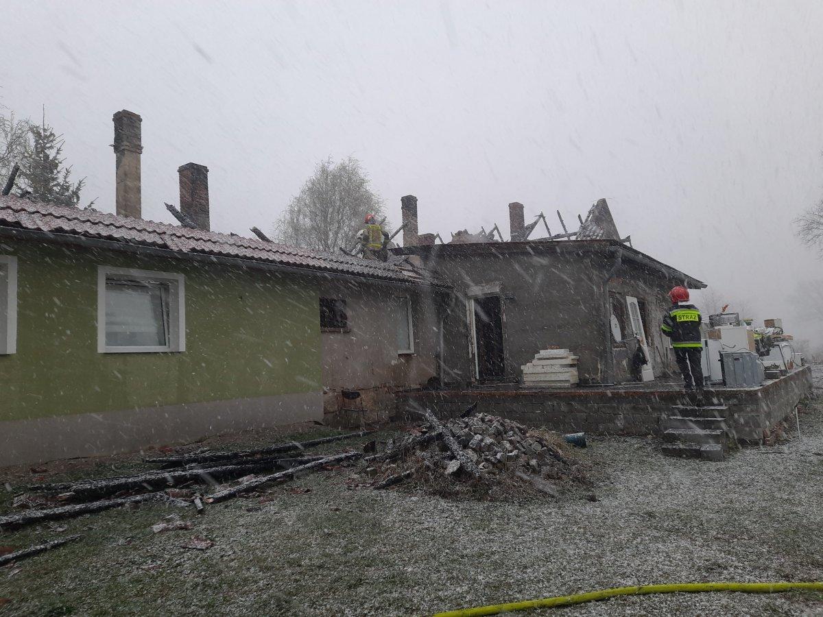 Pożar w Nowych Jaroszowicach