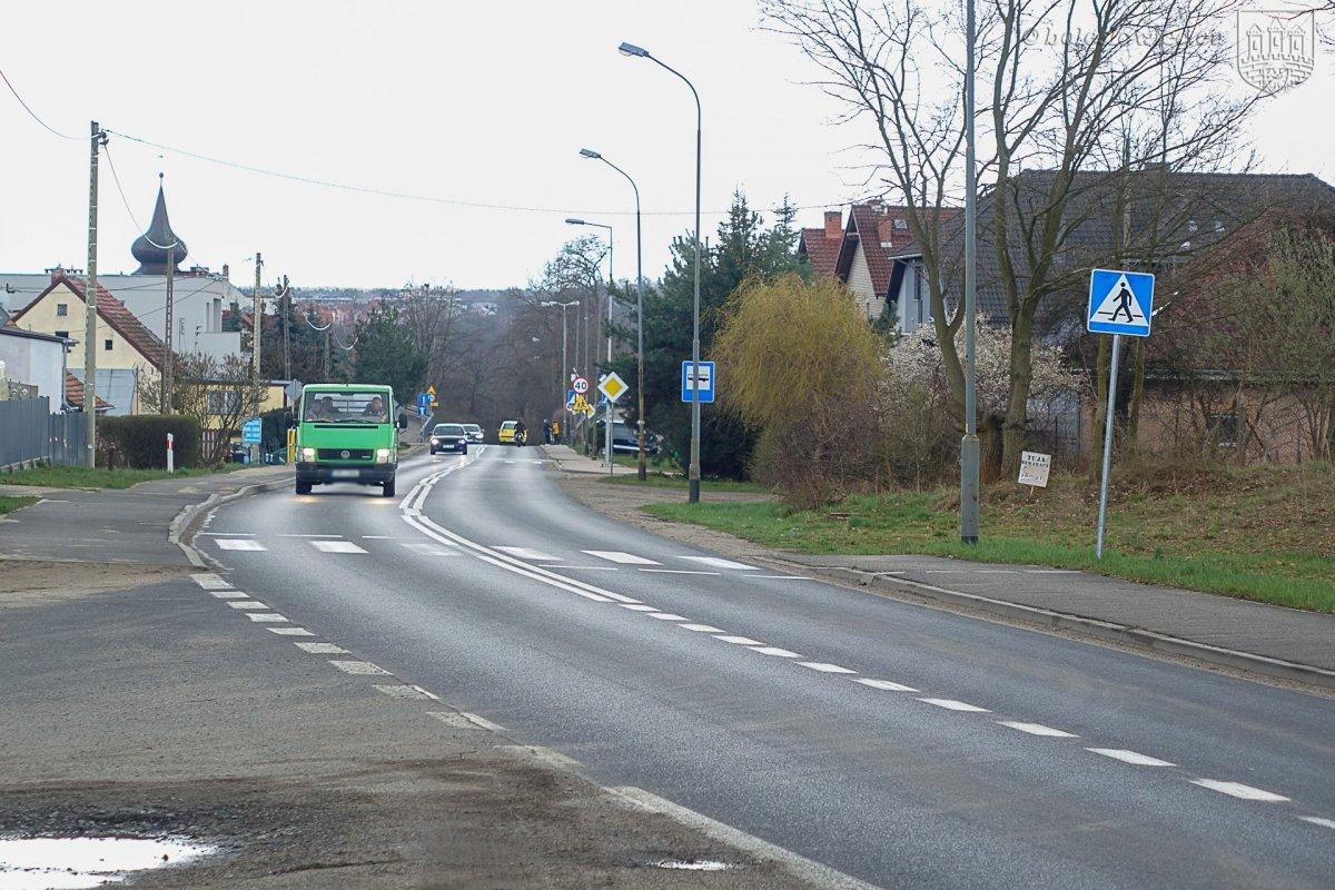 Ulica Widok w Bolesławcu