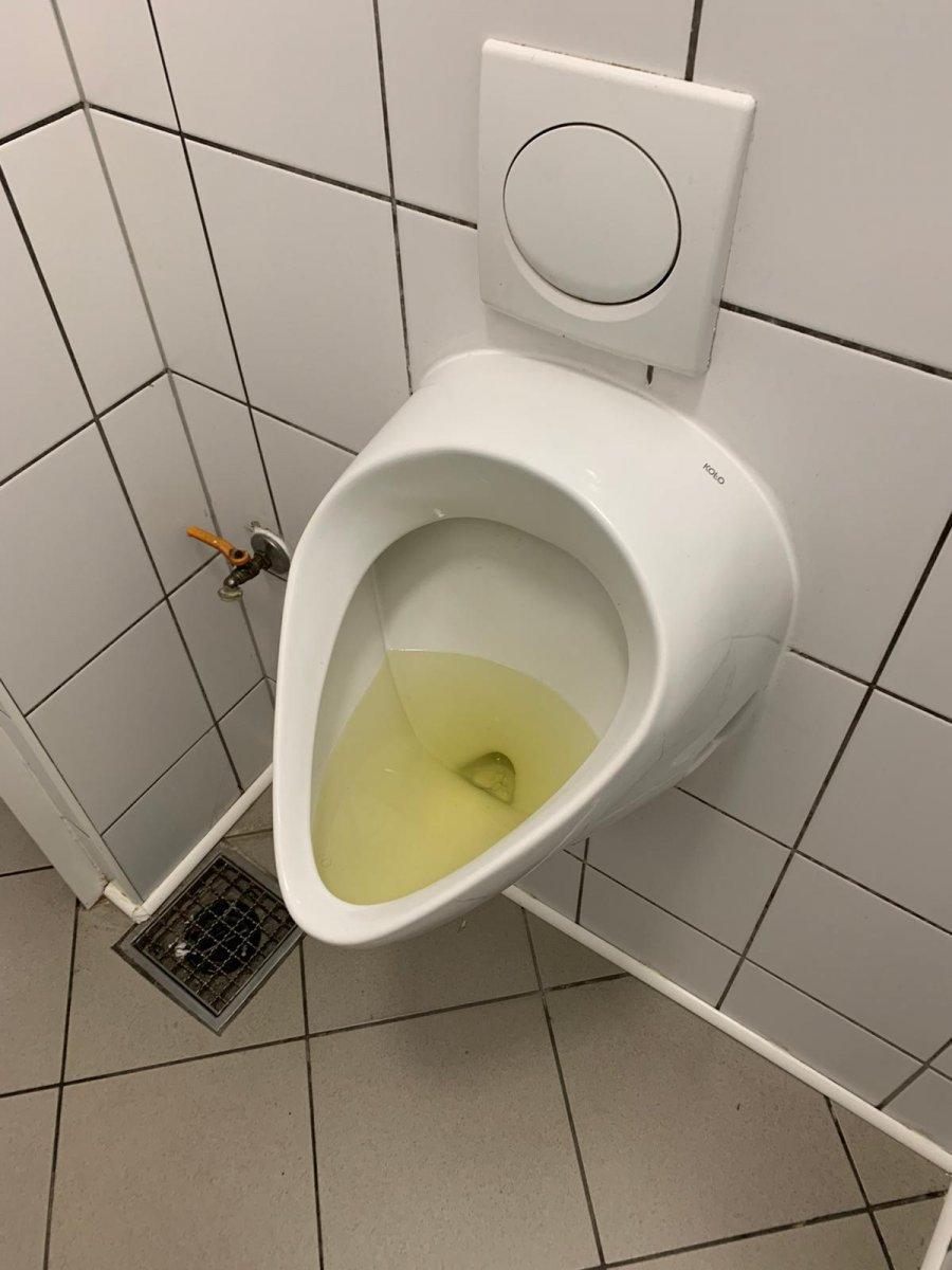 Stan toalety w bolesławieckim markecie