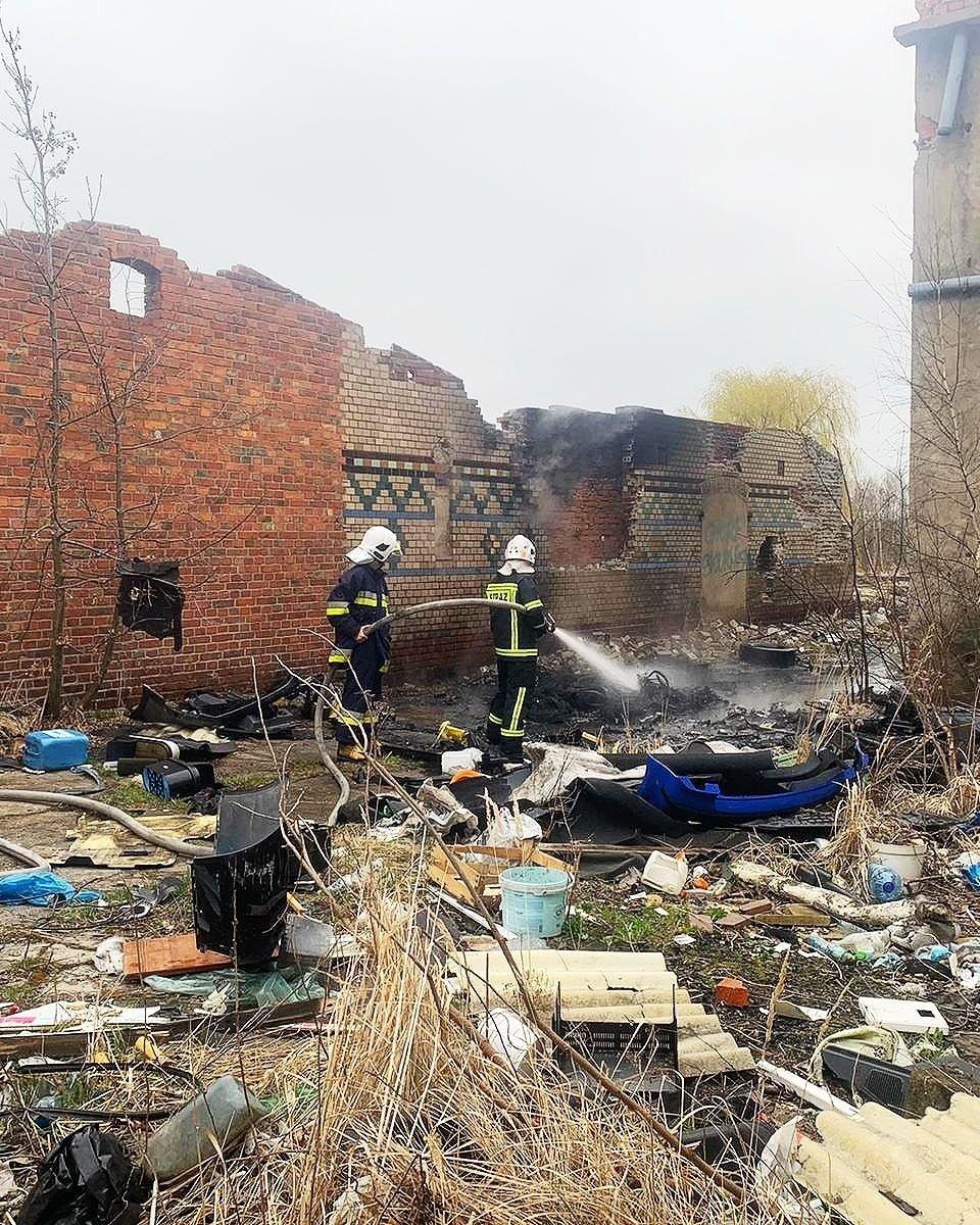 Działania strażaków z Nowogrodźca