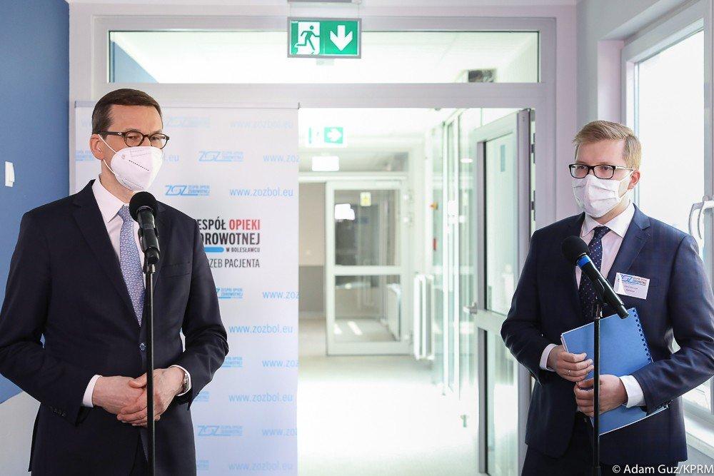 Wizyta premiera Mateusza Morawieckiego w Bolesławcu