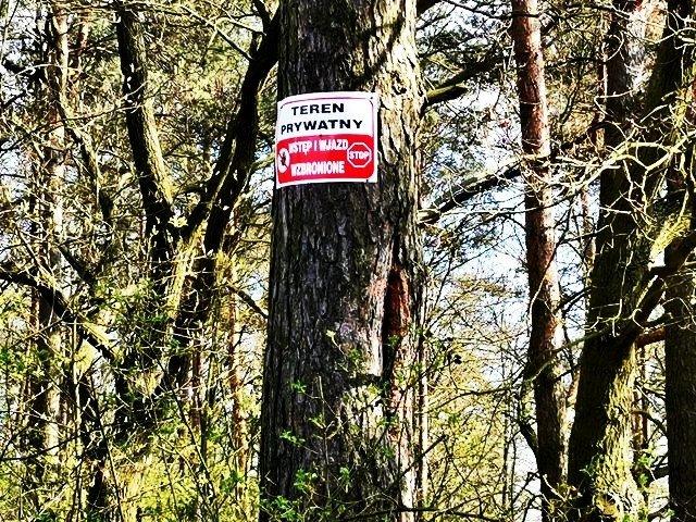 Zakaz wstępu i wjazdu na zbiornik Krępnica