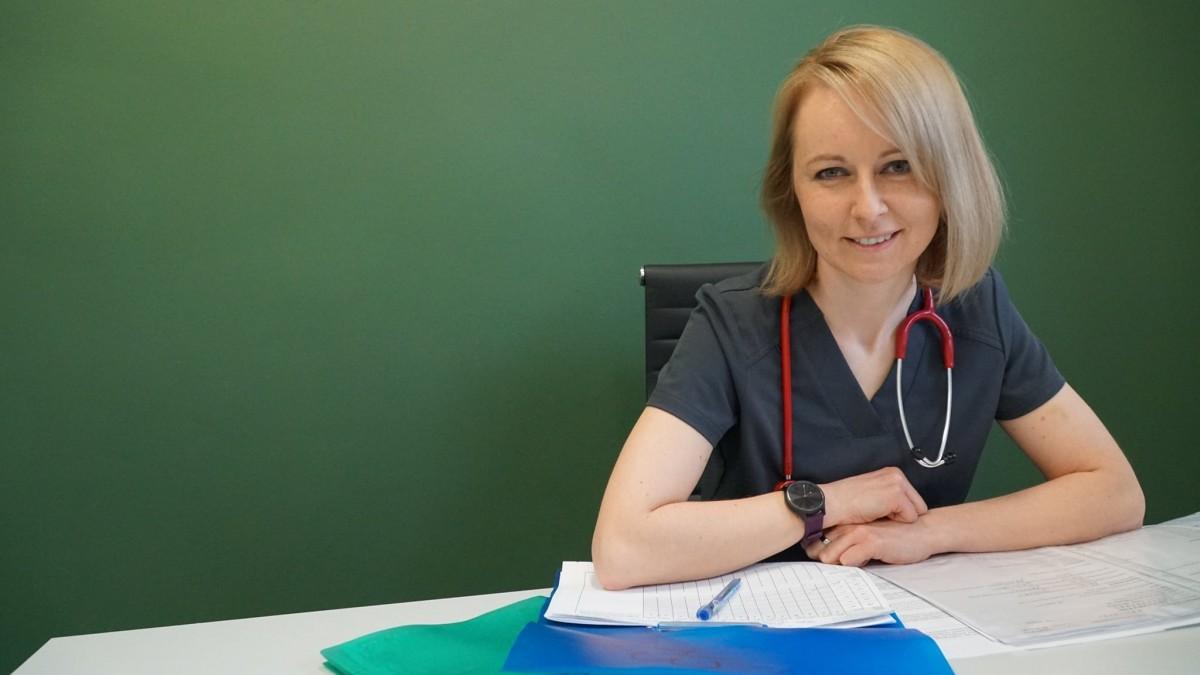 Aleksandra Kopczyńska, Kierownik Oddziału Pediatrycznego