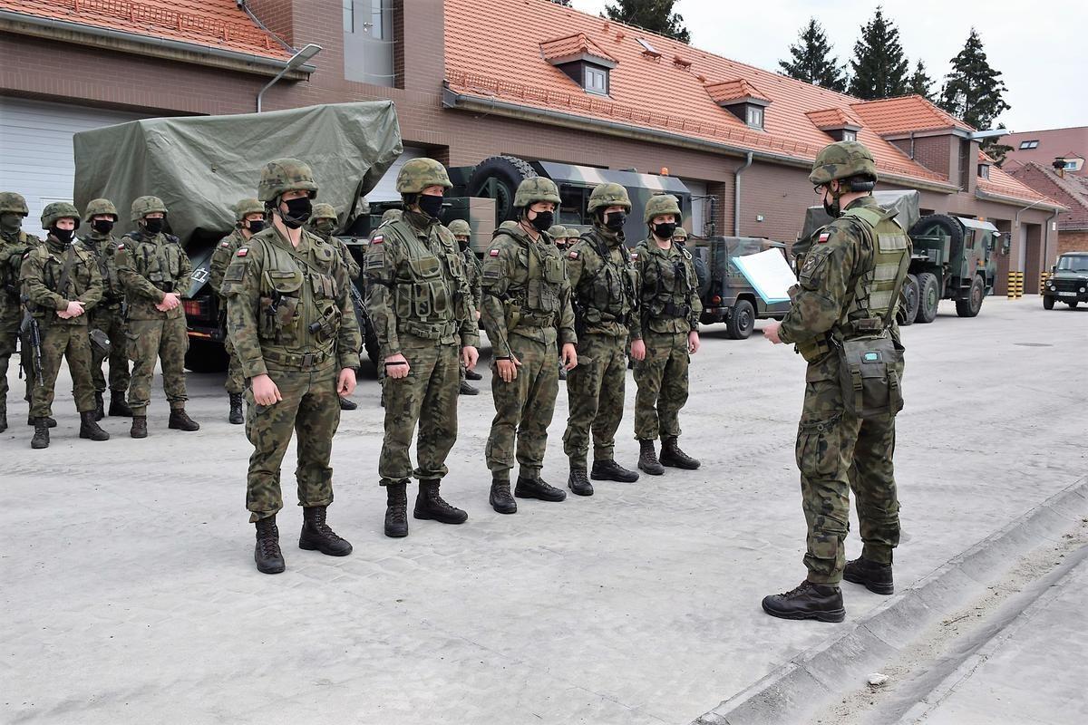 Szkolenie w 23 Śląskim Pułku Artylerii w Bolesławcu