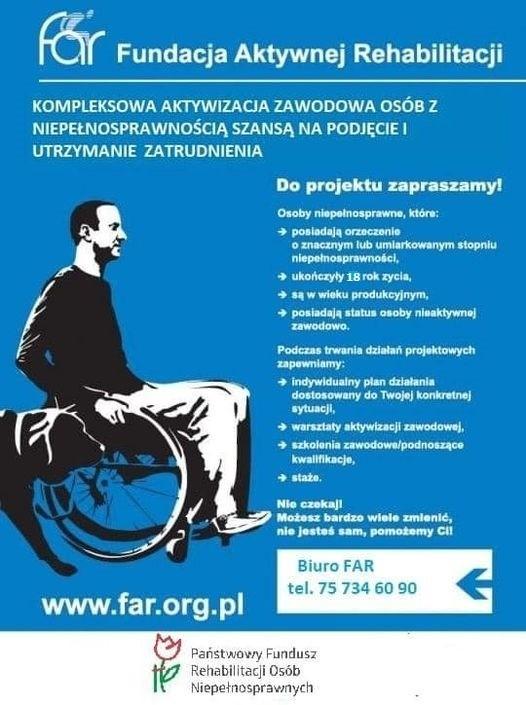 Ulotka Fundacja Aktywnej Rehabilitacji