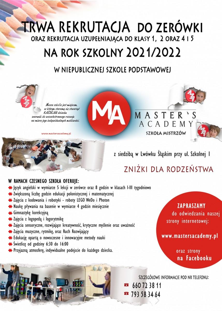 Szkoła Mistrzów rekrutacja 21-22