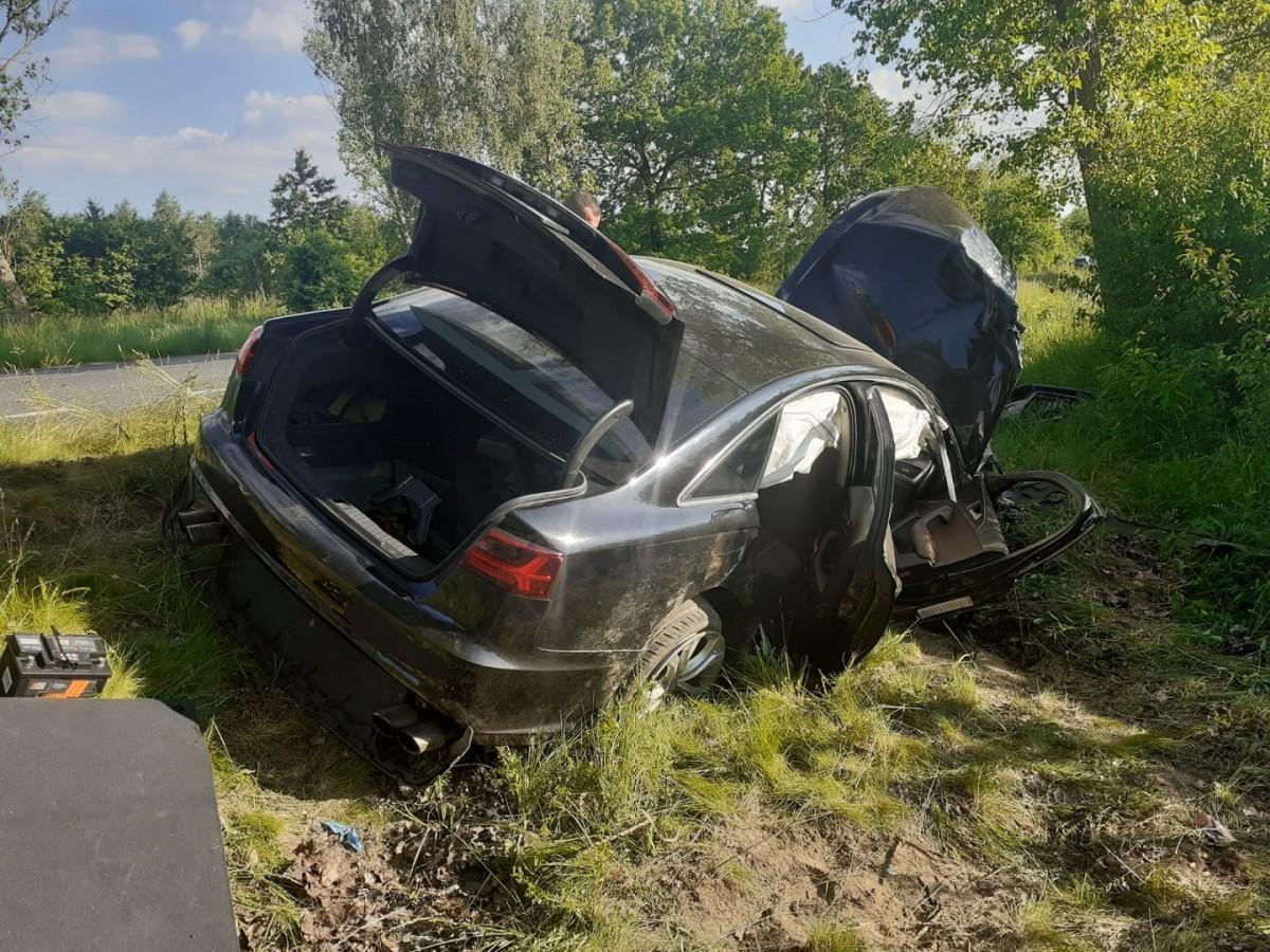 Śmiertelny wypadek w powiecie zgorzeleckim