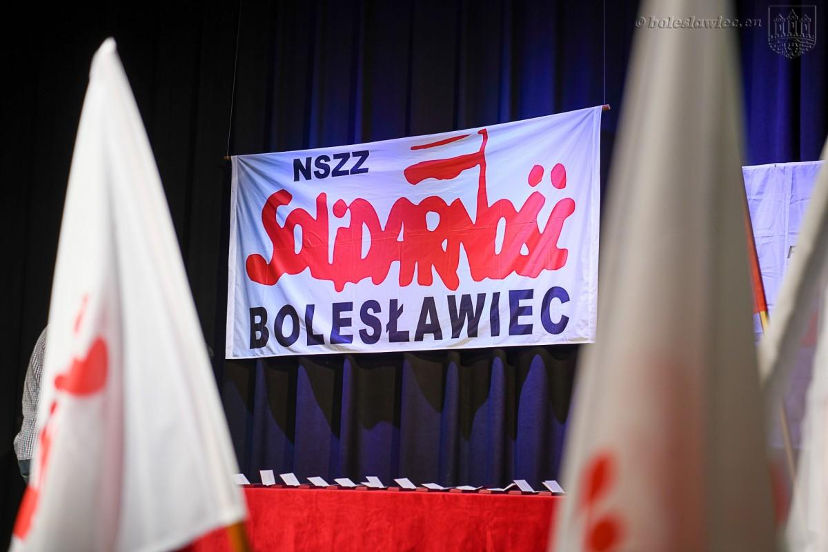 Uroczystość w Teatrze Starym w Bolesławcu